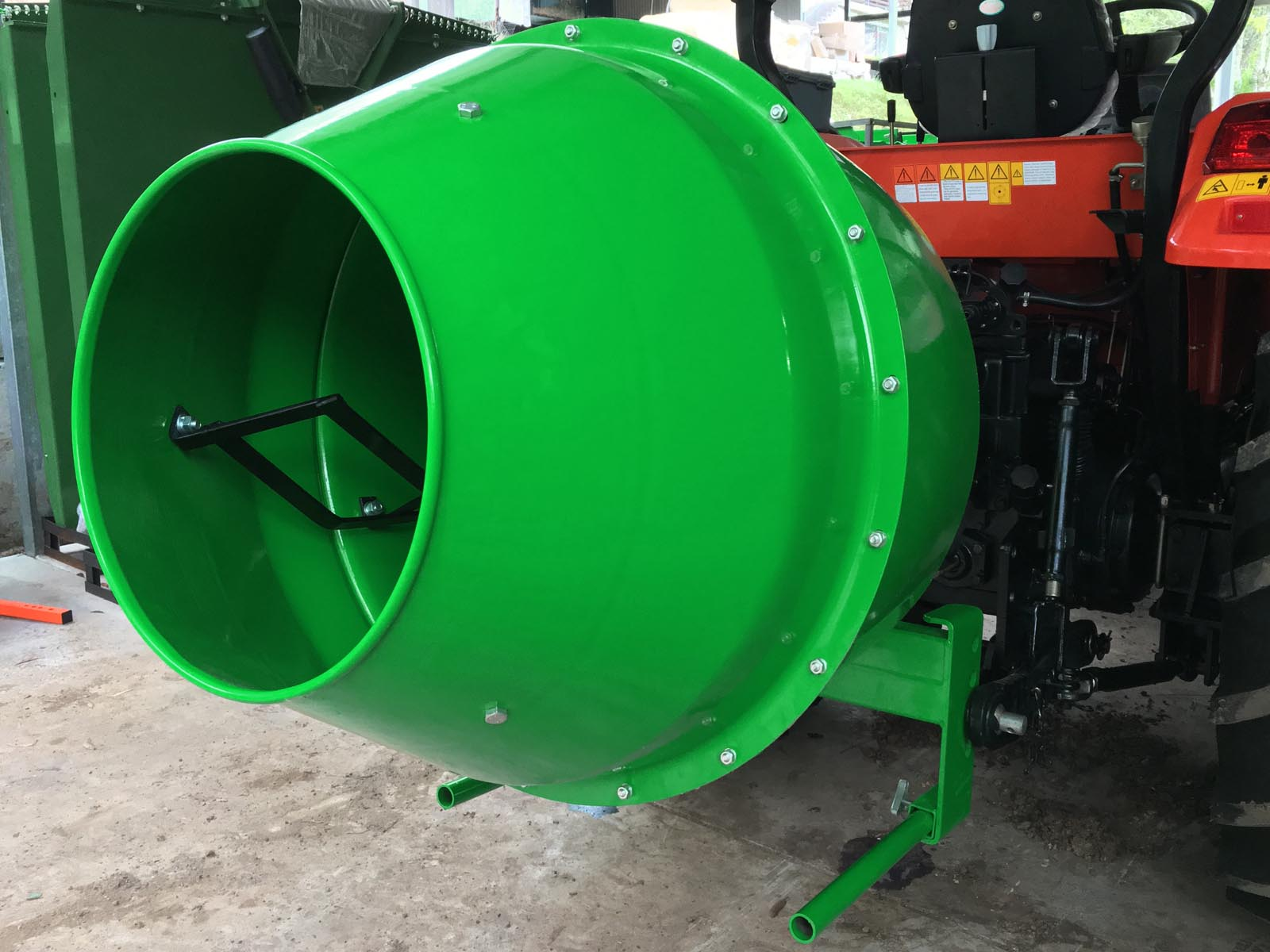 Discount Tractors 3 Point Cement Mixer
