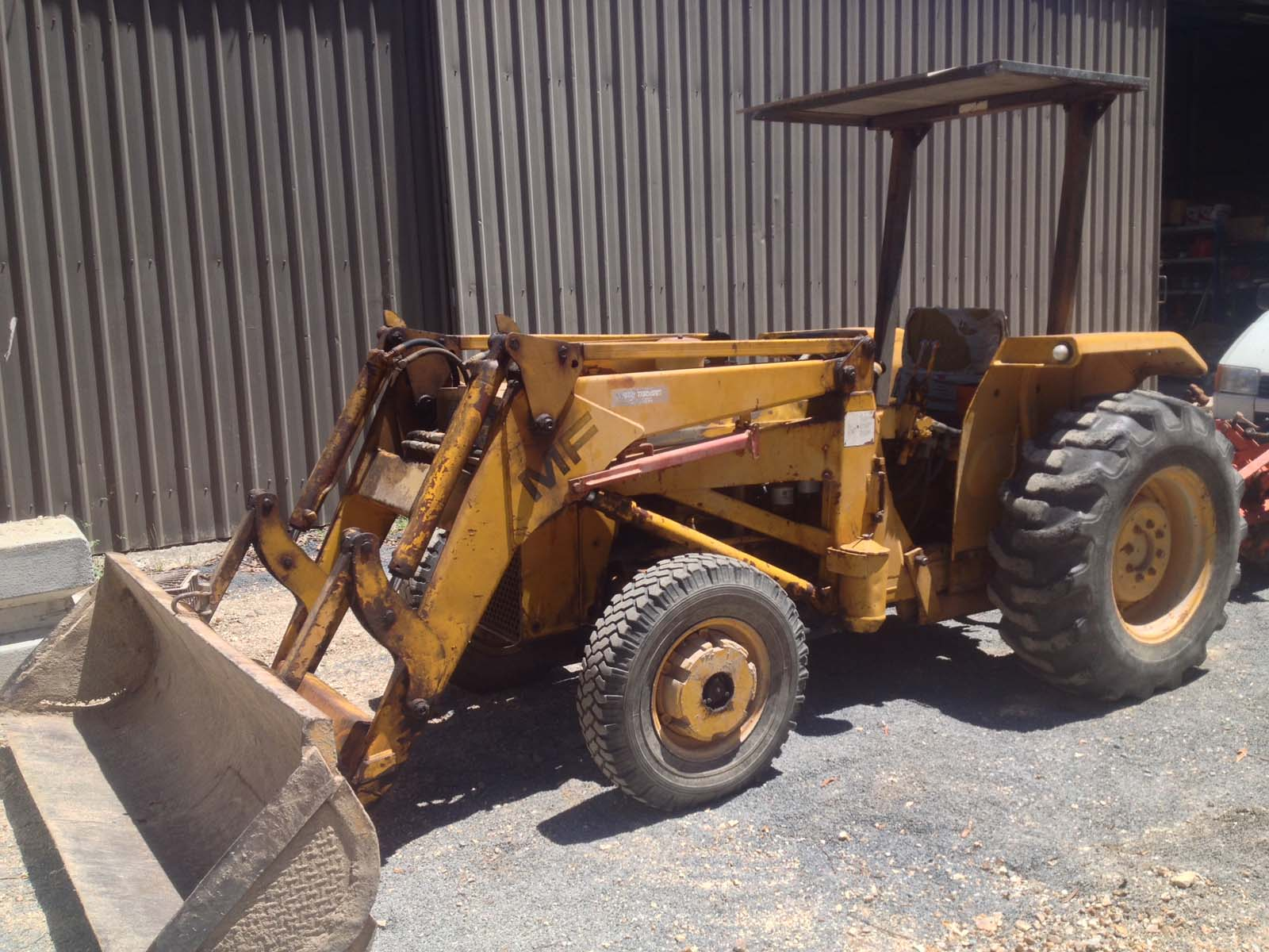 Ferguson 40 Industrial Tractor : Massey ferguson mf hp industrial tractor